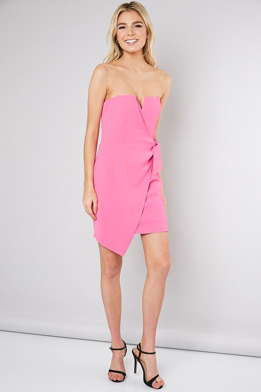 Loose Lips Pink Ships Dress