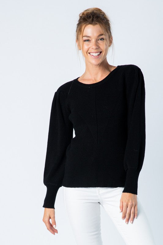Margot Sweater in Black