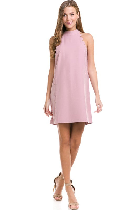 Eye On the Prize Dress Dusty Pink