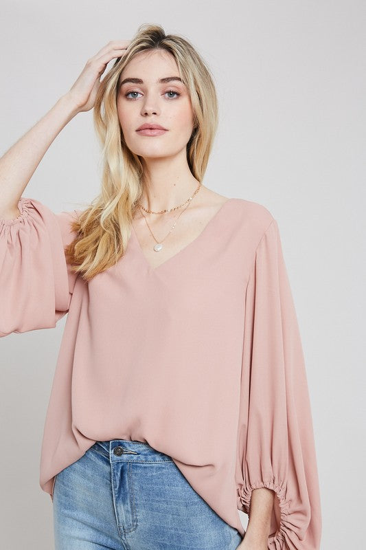 The Irreplaceable Blouse in Ginger