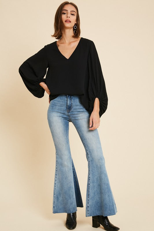 The Irreplaceable Blouse in Black