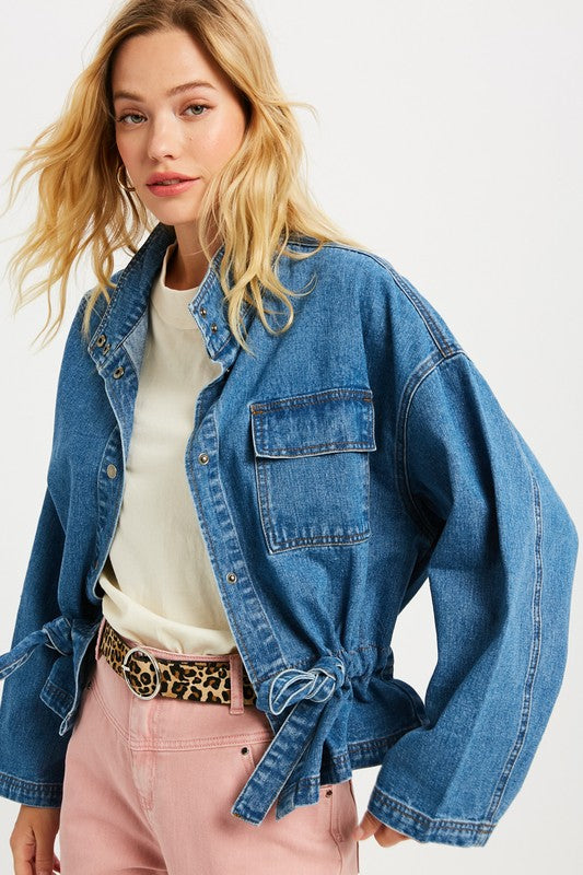 Blue Jean Baby Denim Jacket