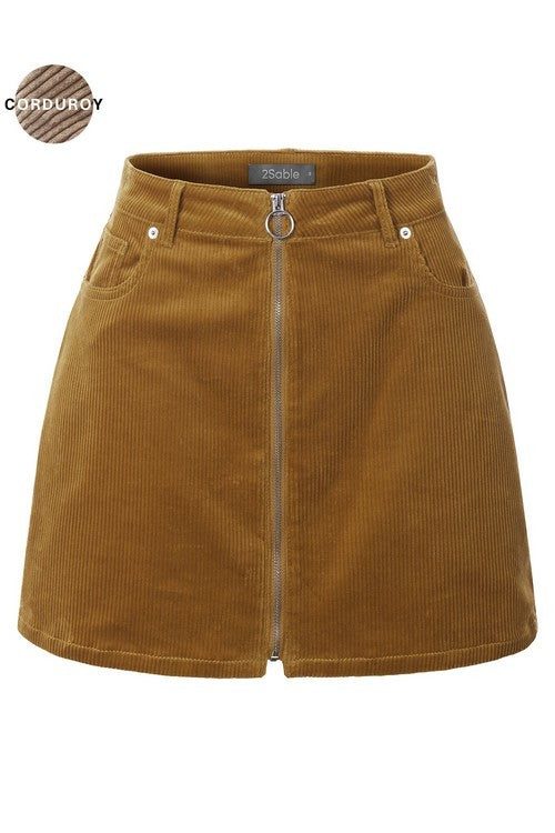 Love Lockdown Skirt Camel