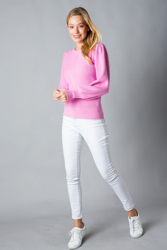 The Margot Sweater Pink