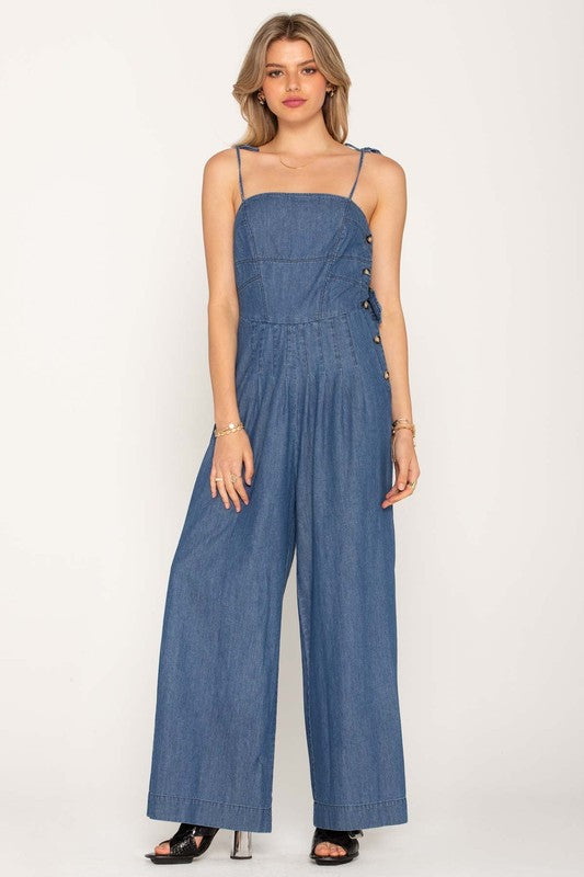 Don't Get the Blues Jumpsuit