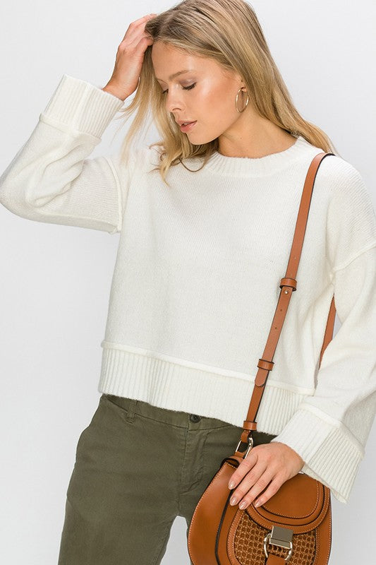 Warm You Up Sweater Cream