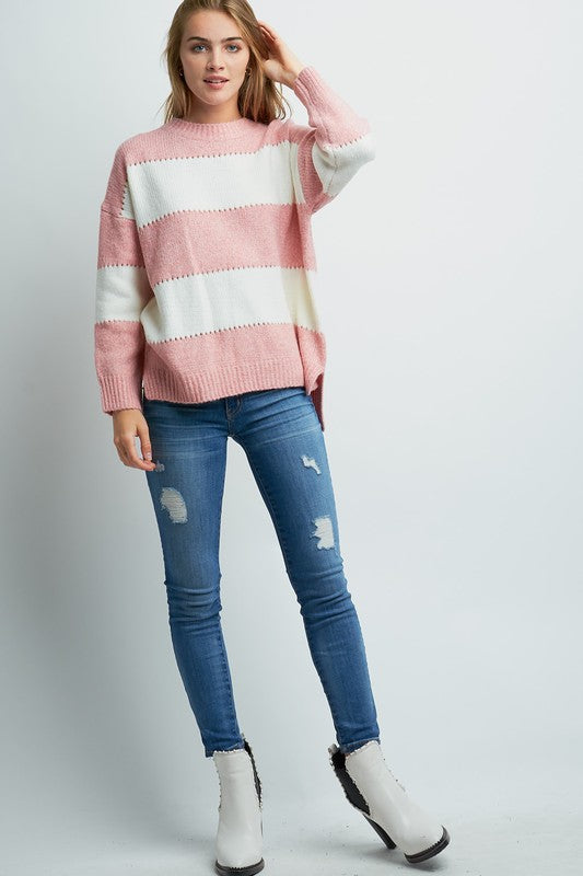 Friday Night Stripes Sweater