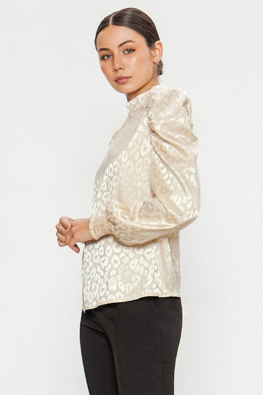 Naomi Blouse in Champagne