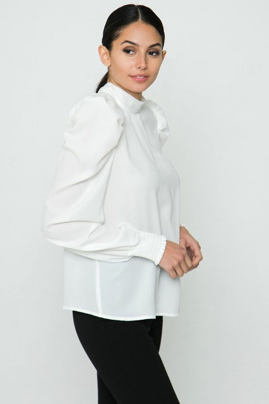 The Cameran Blouse White