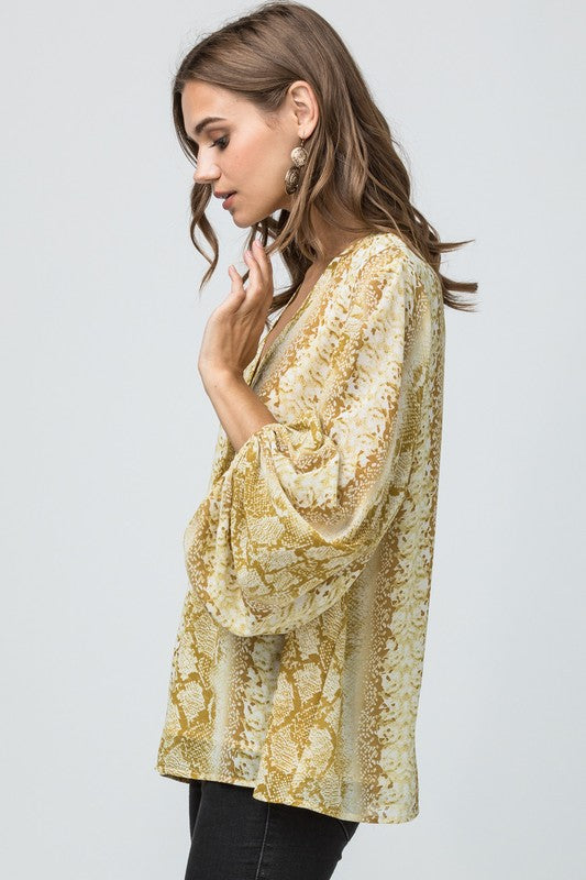 Golden Opportunity Blouse