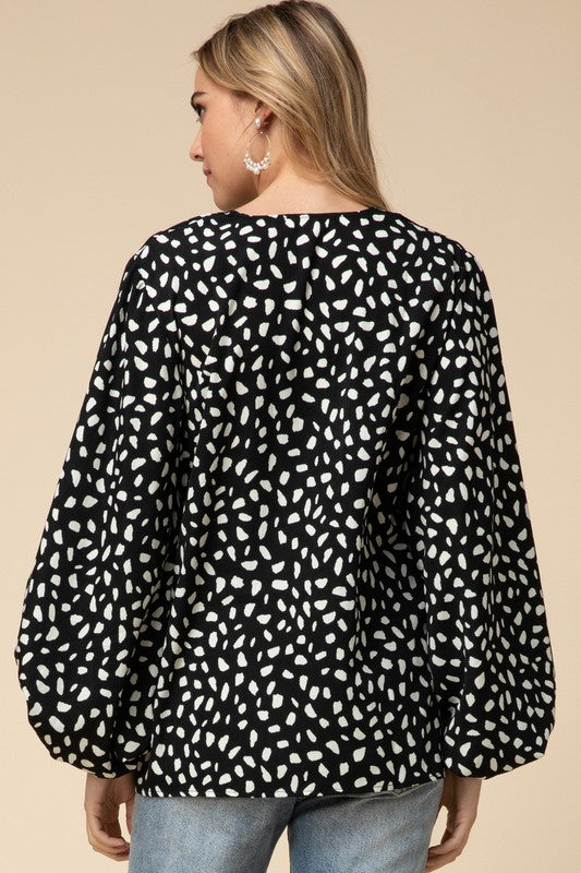 Laws of Attraction Blouse in Black