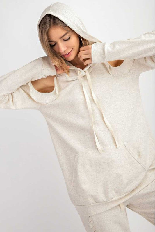 French Terry Sweatshirt Ivory