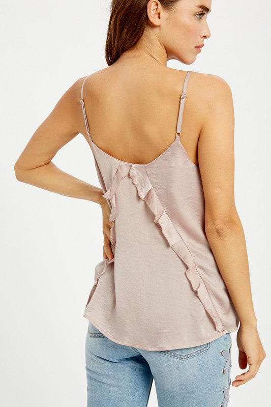 The Allison Cami in Taupe Blush