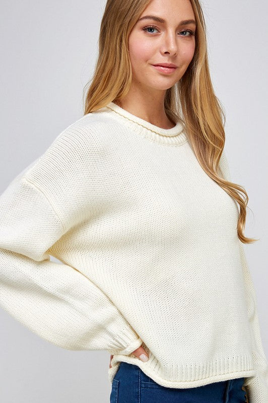 The Holly Sweater Ivory