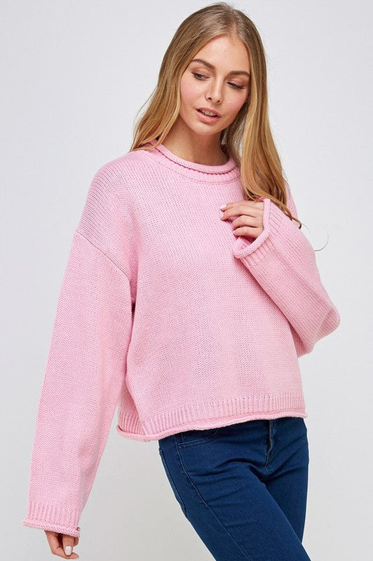 The Holly Sweater Pink