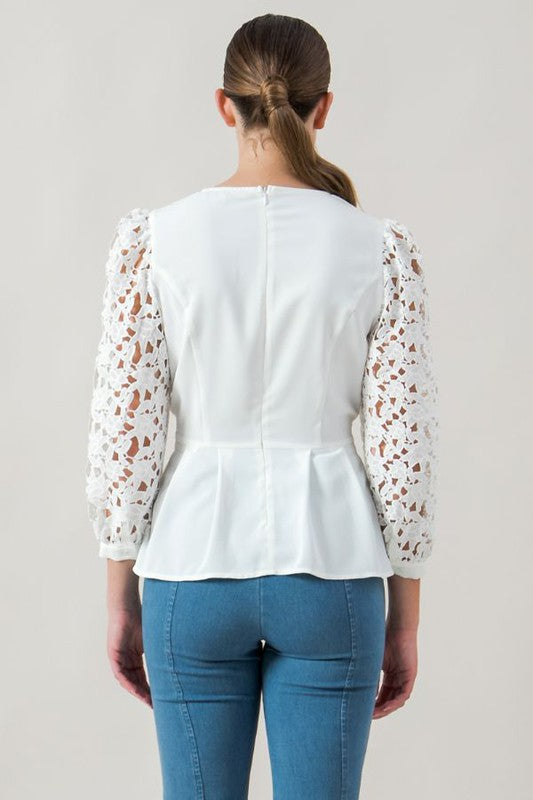 Spring Is In The Air Blouse