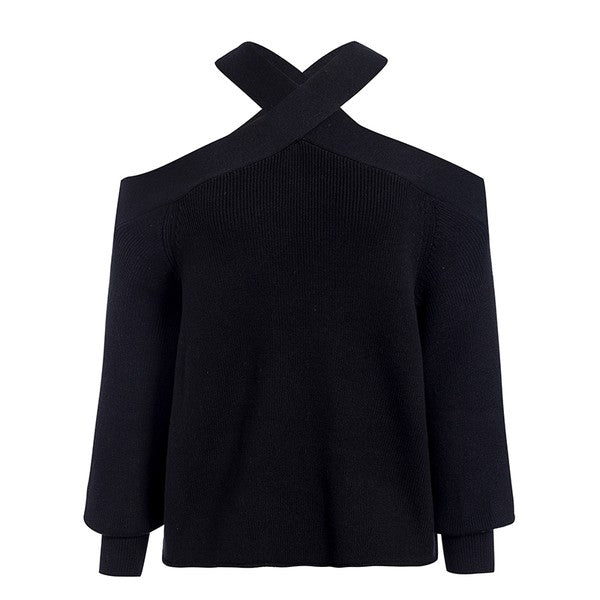 The Heather Sweater Black