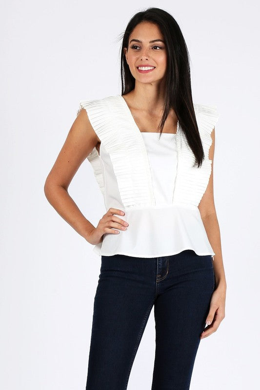 The Eva Top White