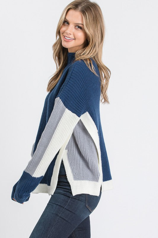 Lauren Sweater in Navy