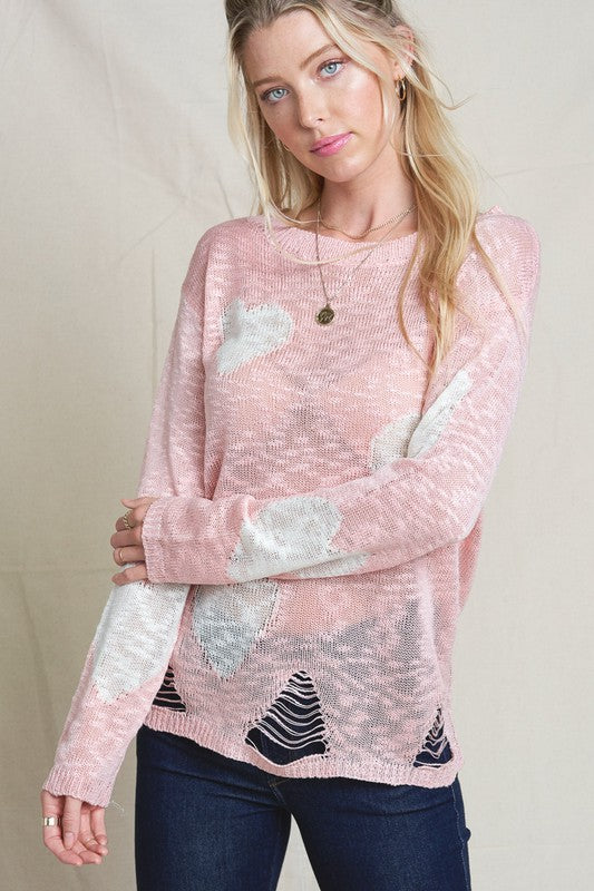 Heart Breaker Sweater