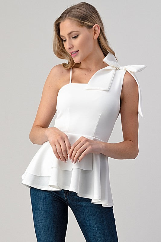 Southern Belle Top White