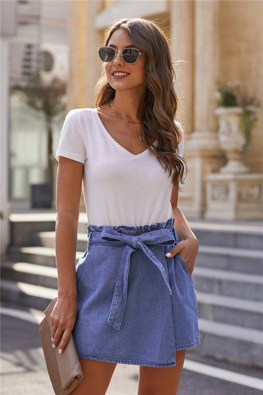 Bailey Denim Skort