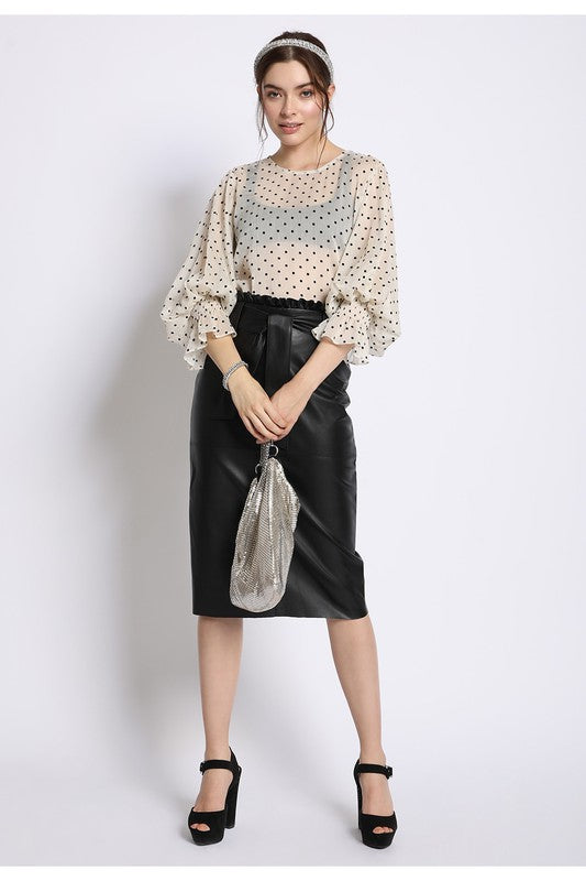 Paris Nights Blouse