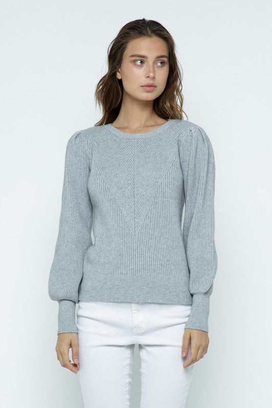 Margot Sweater in Grey