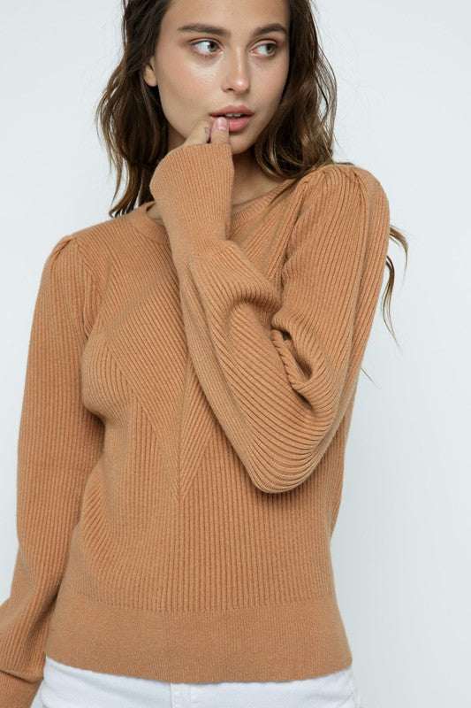 Margot Sweater in Caramel