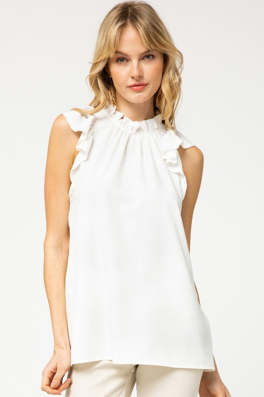 The Abigail Top in White