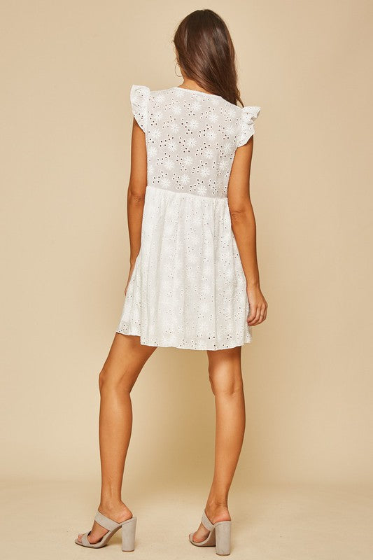 The Savannah Eyelet Dress