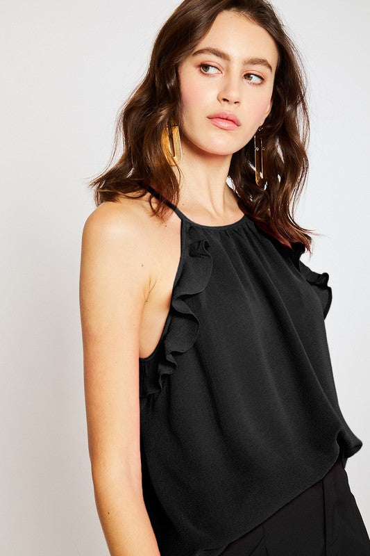 The Abby Top in Black