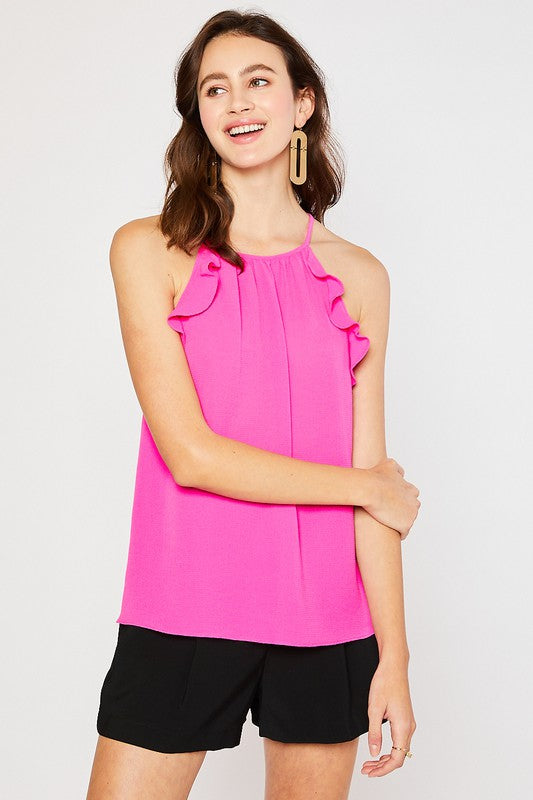 The Abby Top in Pink