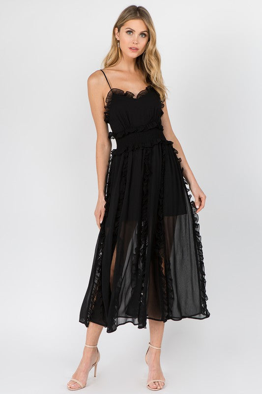 Andrea Dress in Black