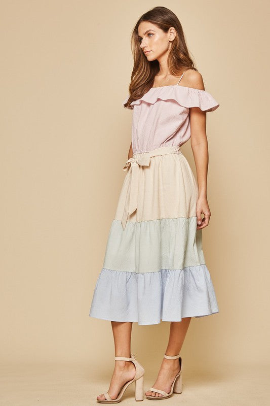 The Madeline Midi Dress