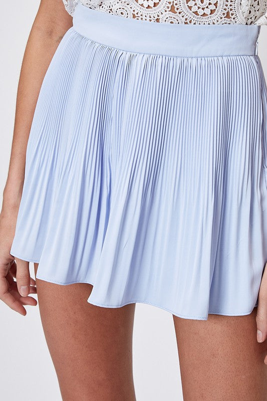 The Lauren Pleated Shorts