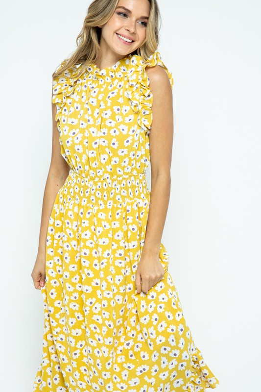 Morgan Dress Yellow