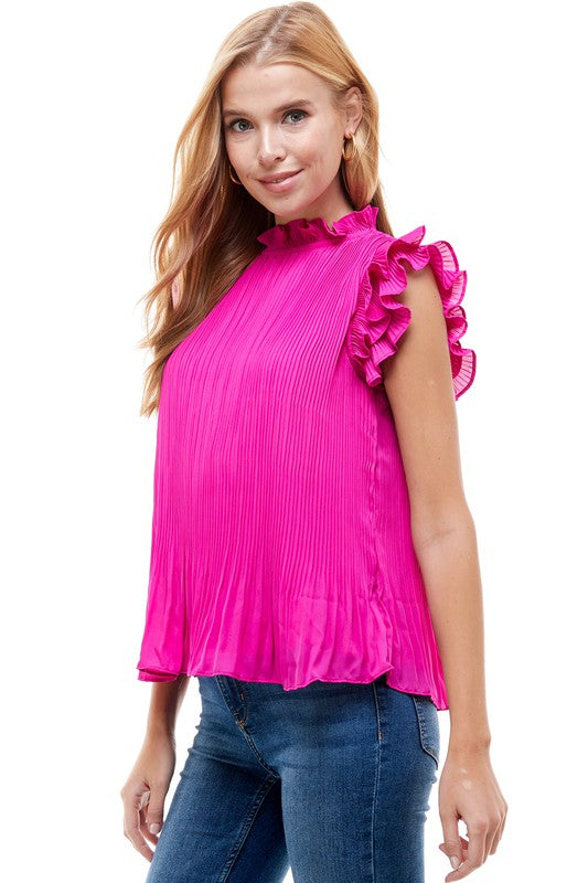 Juliette Top in Magenta