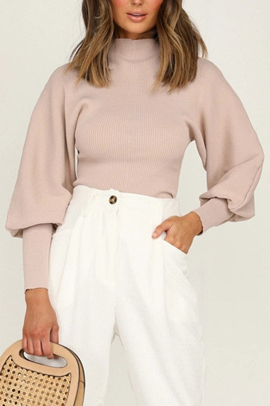 Gemma Sweater in Blush