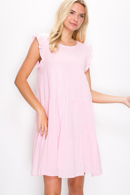 Mackenzie Dress in Rose