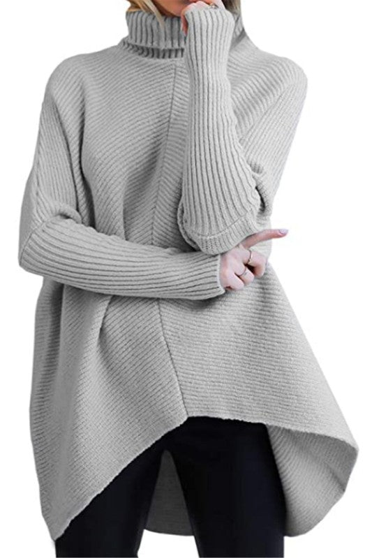 The Kim Sweater in Grey
