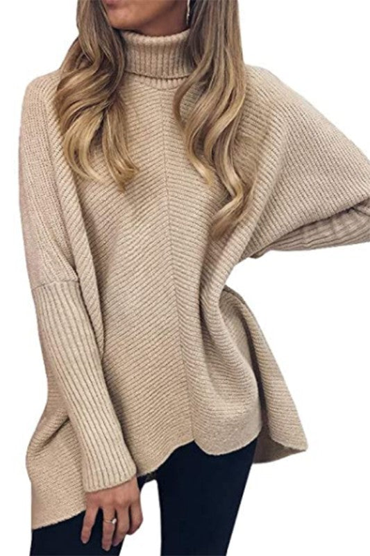 The Kim Sweater in Beige
