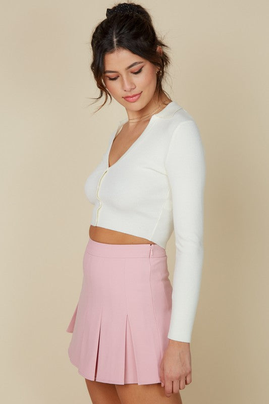 Charlotte Skirt in Pink