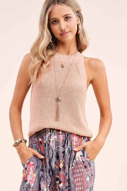 Avery Top in Blush