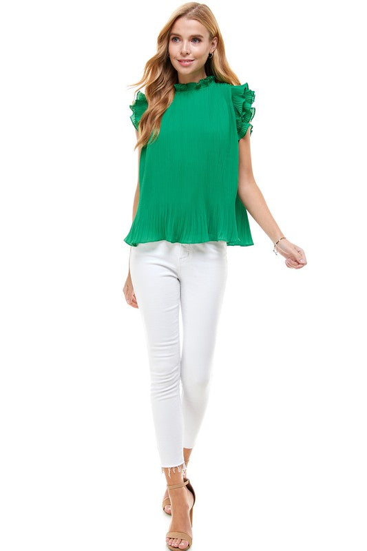 Juliette Top in Green