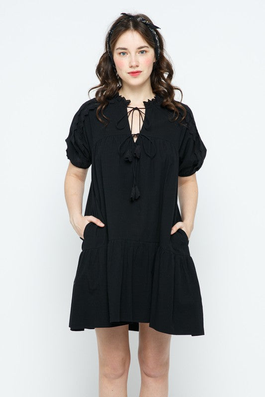 Madeline Dress in Black