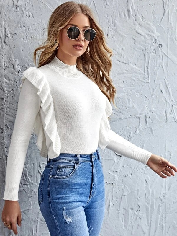 Kennedy Sweater in White
