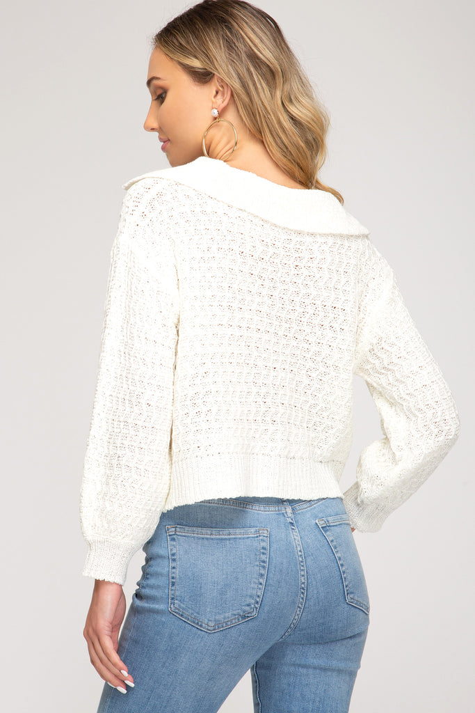 Sure Thing Sweater Top