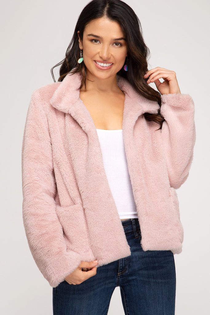 Furst Things First Faux Fur Jacket