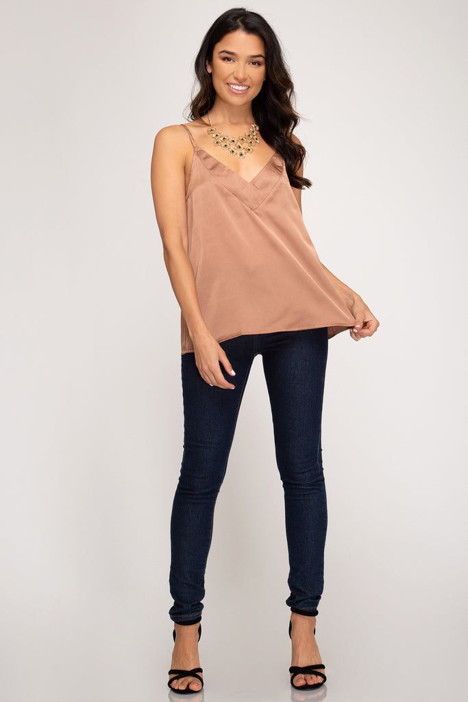 Winter Nights Satin Top
